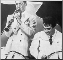 With Benny Goodman, 1937